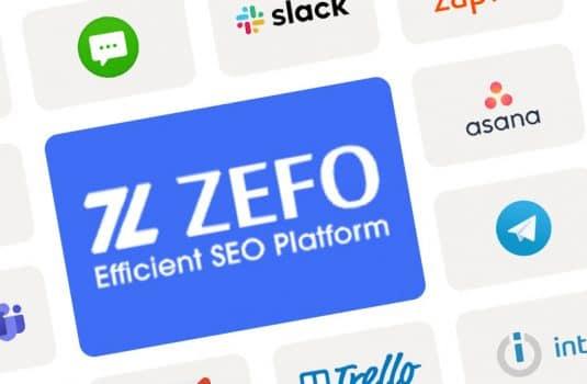 חיבורי מידע ואינטגרציות ZEFO
